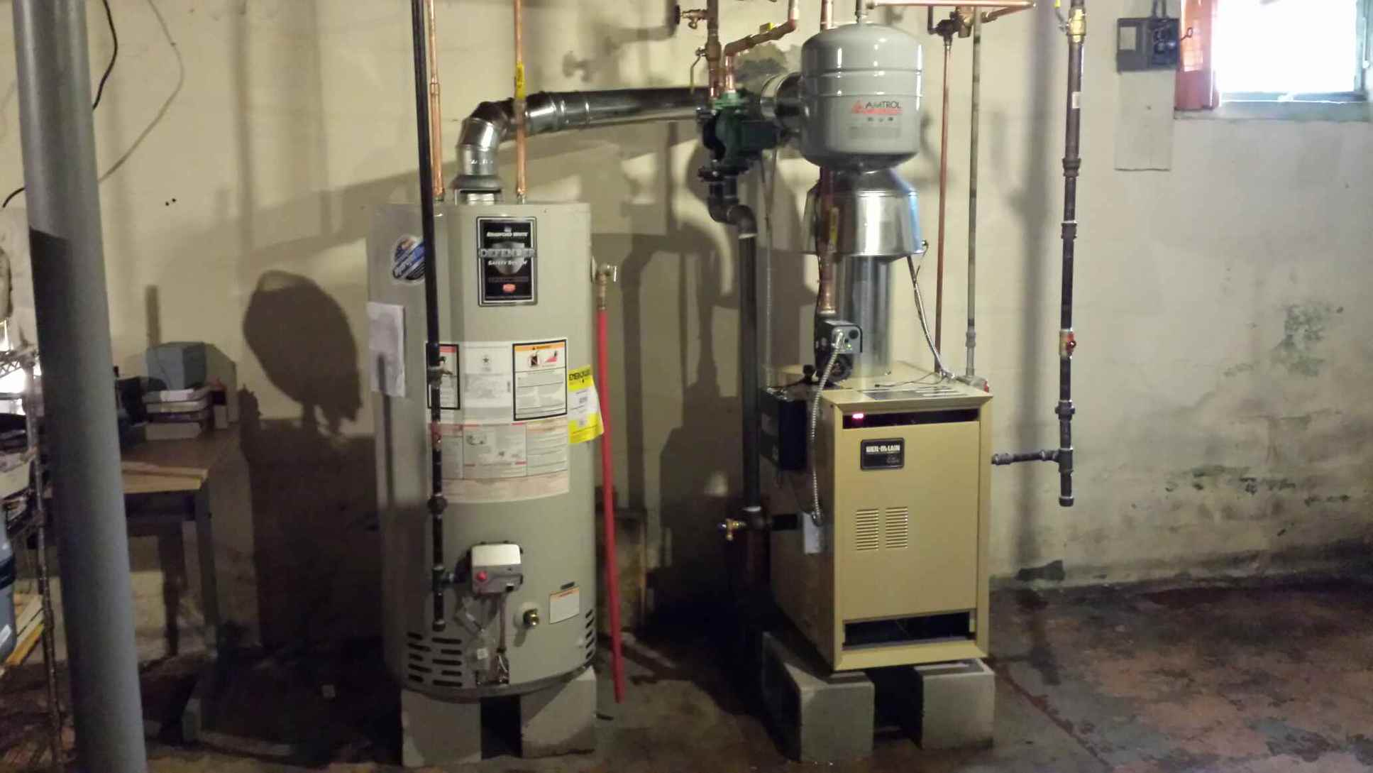 Conversion From Oil To Natural Gas Boiler